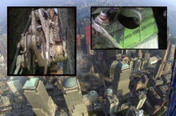 [NY] 9/11 Plane Part Found in Alley Near World Trade Center