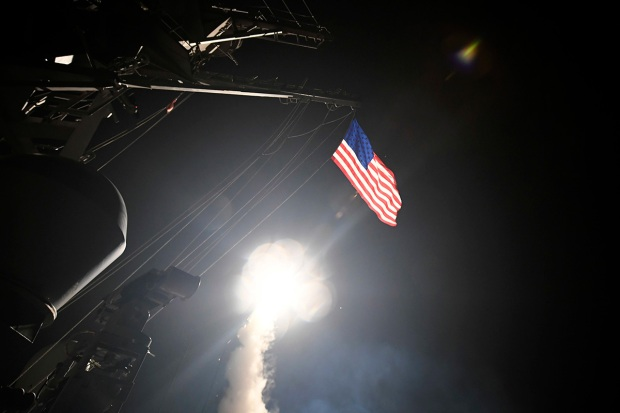 See Images From the US Missile Strike on Syria