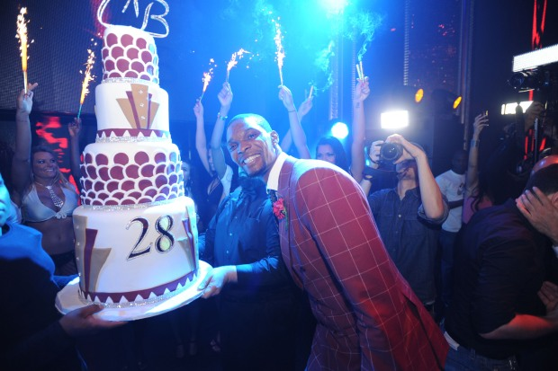 Inside Chris Bosh's Birthday Bash