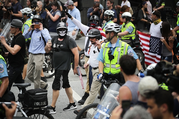[NATL-DC] Unite the Right Rally, Counterprotesters Descend on DC