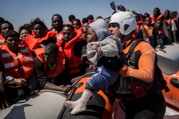 Dramatic Images: Europe's Migrant Crisis