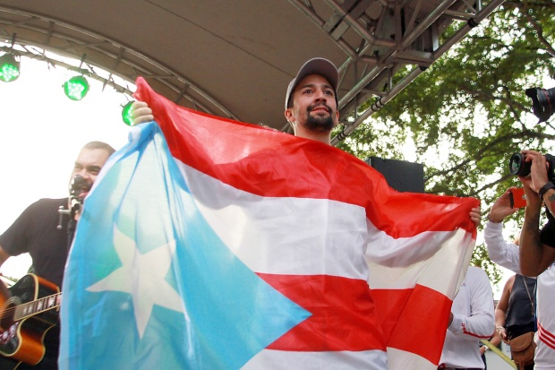[NATL] 'Hamilton' Musical Aims to Give Puerto Ricans Their Shot At Performing