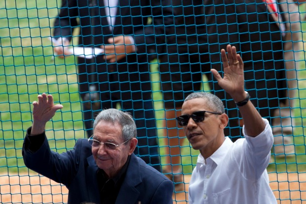 Obama's Historic Trip to Cuba in Photos