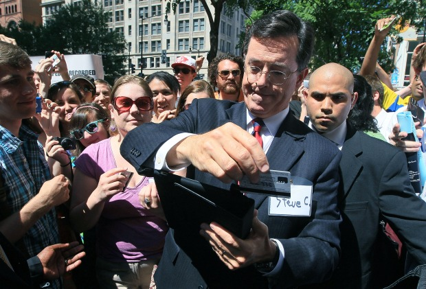 Stephen Colbert at the FEC
