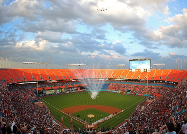 Marlins' Opening Day 2011