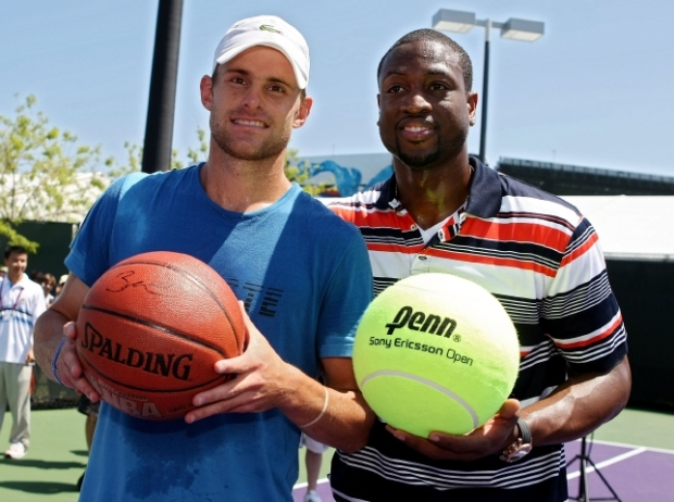 Players at Play: Roddick and Wade Play H.O.R.S.E.