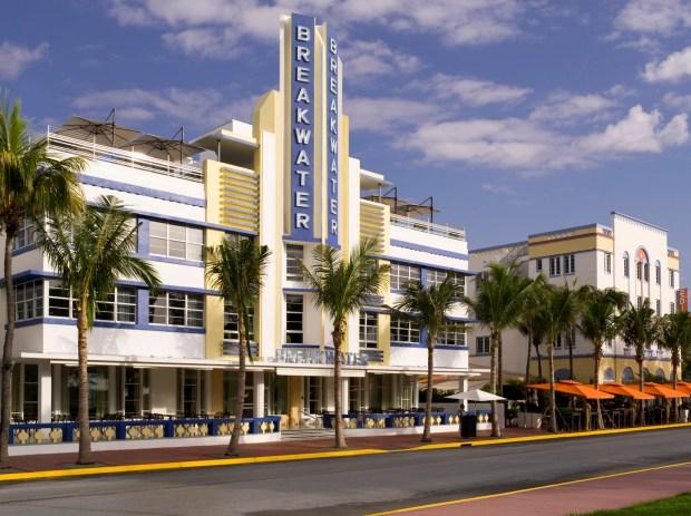 Inside South Beach's Breakwater Hotel