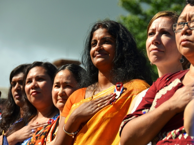 America's Newest Citizens Take the Stage at Monticello