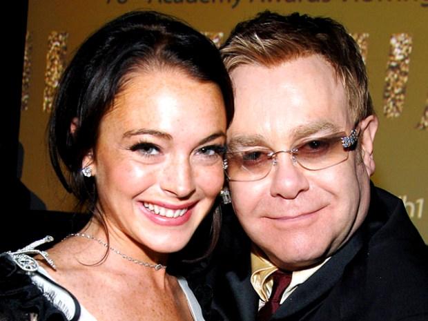 [NATL] Elton John: Lindsay Lohan Needs to Ditch Her Family