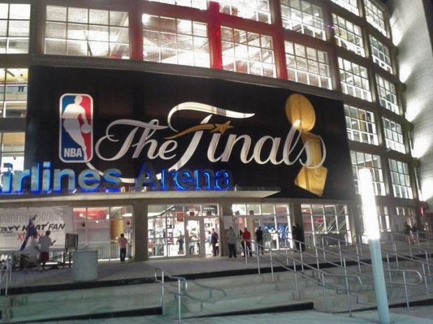 Behind the Scenes at the NBA Finals