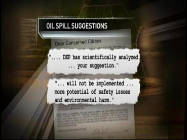 [MI] Oil Spill Suggestions