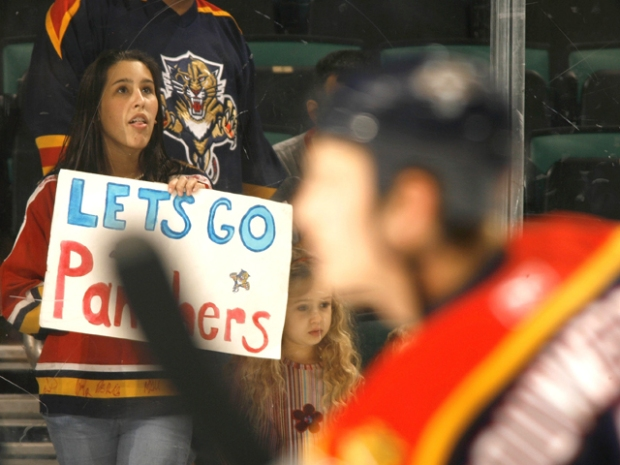 Panthers Fans Thwart Forbes