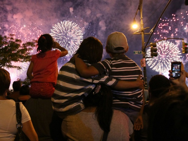 Photos: New York City's Spectacular Fireworks Display