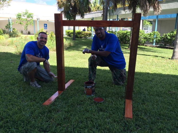 NBC 6 Gives Back in Our Community Cares Initiative