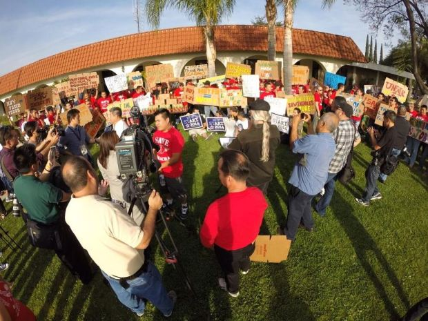 Sriracha Supporters Show Up For Irwindale Plant