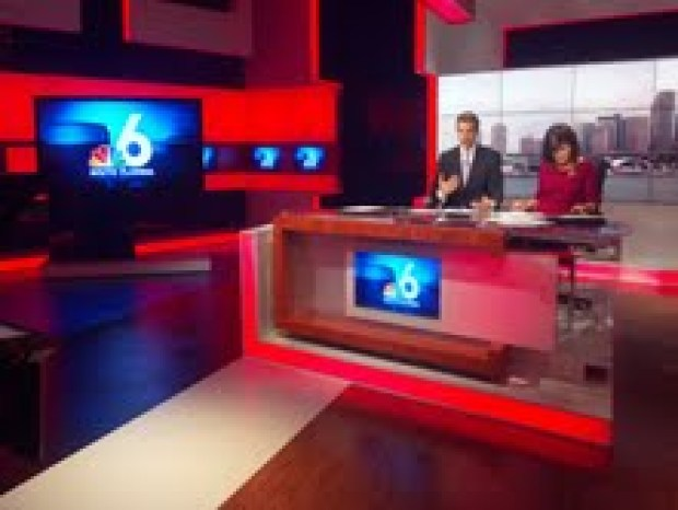 Behind-The-Scenes at NBC 6 Covering Isaac