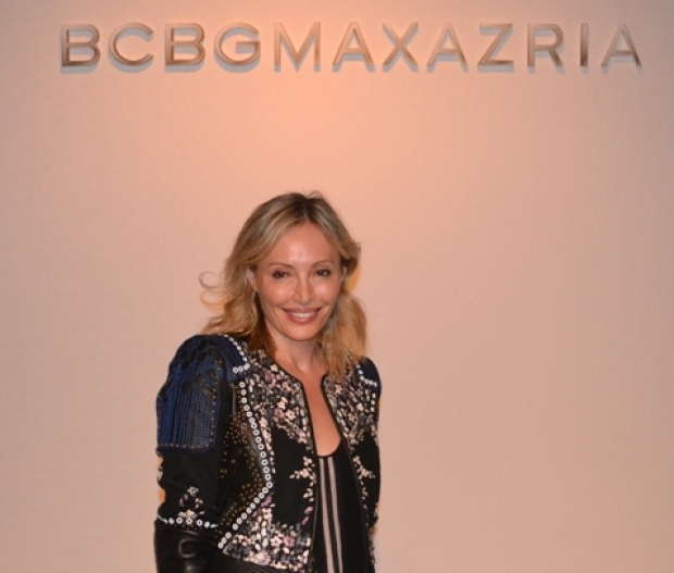 Amex VIP BCBGMaxAzria Show hosted by Lubov Azria and Hal Rubenstein