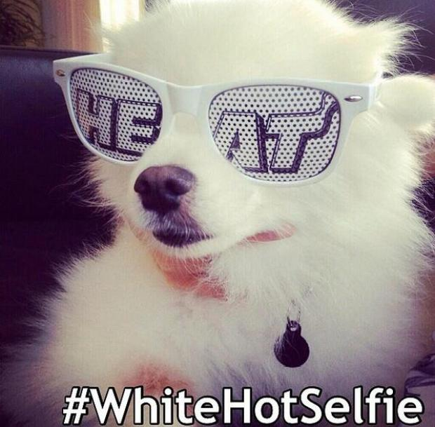 White Hot Selfies