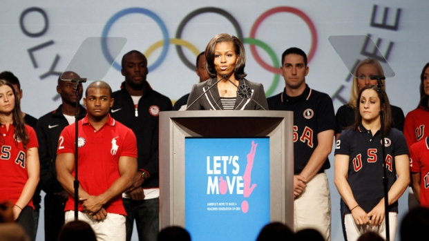 [DFW] First Lady Attends Olympic Summit