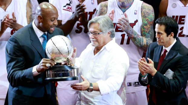 Heat-Pacers Game 7 Photos