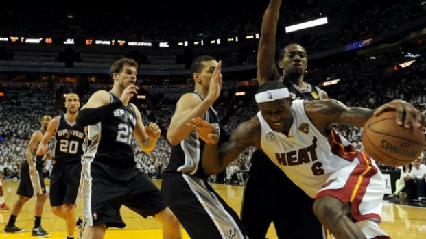 Heat-Spurs Game 1 Photos