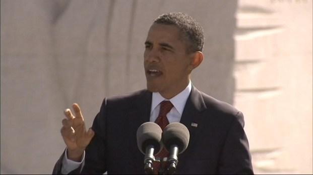 [DC] President Obama Speaks at MLK Memorial Dedication