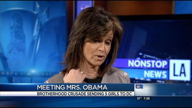 [LA] Meeting Mrs. Obama