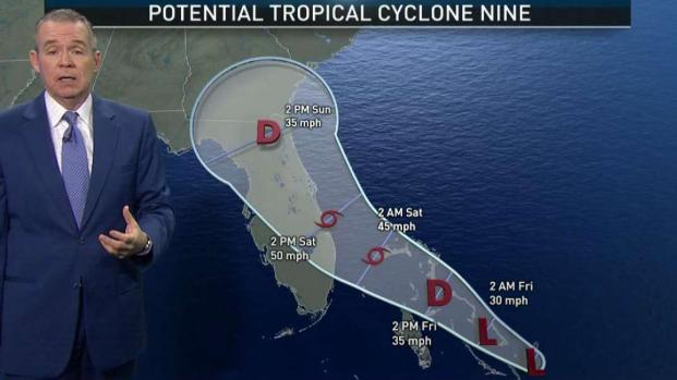 [MI] Advisory for Potential Tropical Cyclone Nine