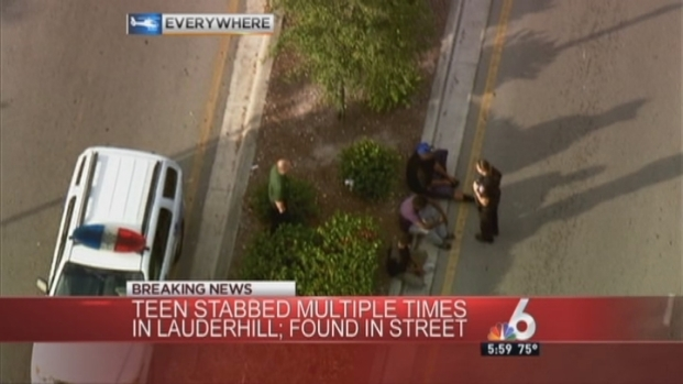 [MI] Teenager Stabbed Multiple Times in Lauderhill: Authorities