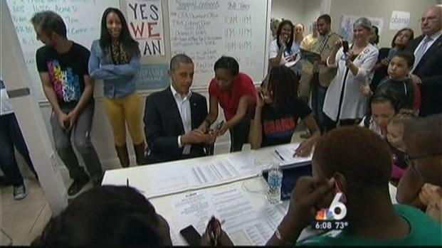 [MI] Enthusiasm High Among Florida's Early Voters