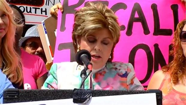 [DGO] Gloria Allred Speaks at 'Freedom From Filner' Rally