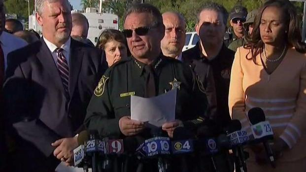 [MI] Broward Sheriff Gives Details, Names of Victims in School Shooting