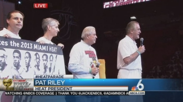 [MI] City Of Miami Congratulates Miami Heat