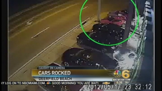 [MI] Vandal Hurles Stones at Luxury Cars: Officials