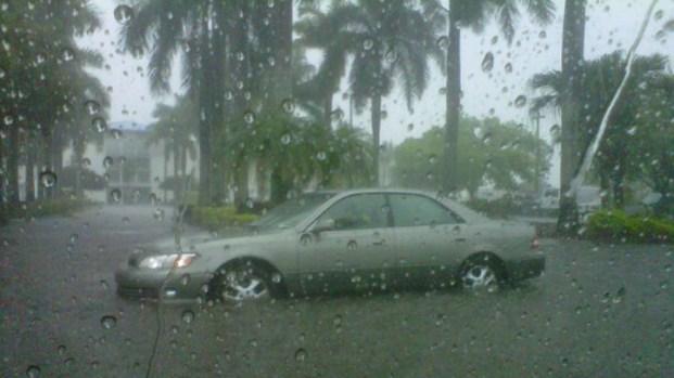 [MI] RAW VIDEO: Flooded Roads in Doral