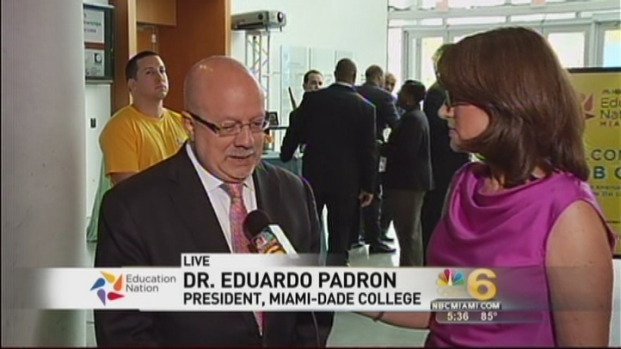 "[MI] Some Students Need ""Double Effort"" To Catch Up: Miami-Dade College President"