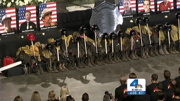 [LA] Nation Says Final Farewell to Fallen Arizona Firefighters