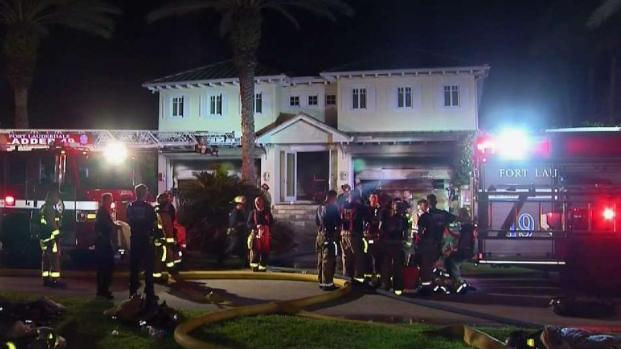 [MI] Fort Lauderdale Home With Exotic Cars Catches Fire