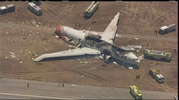 [NATL-BAY] RAW VIDEO: Plane Crash at SFO