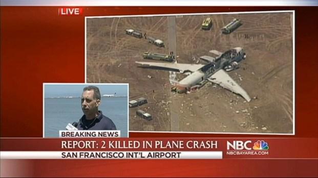 [NATL-BAY] RAW VIDEO: Eyewitness Description of Plane Crash