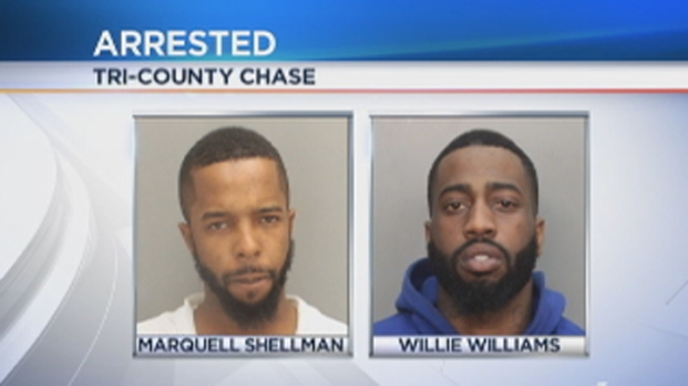 [MI] 2 Suspects Being Held on Several Charges After Police Chase That Ended in Miami Gardens