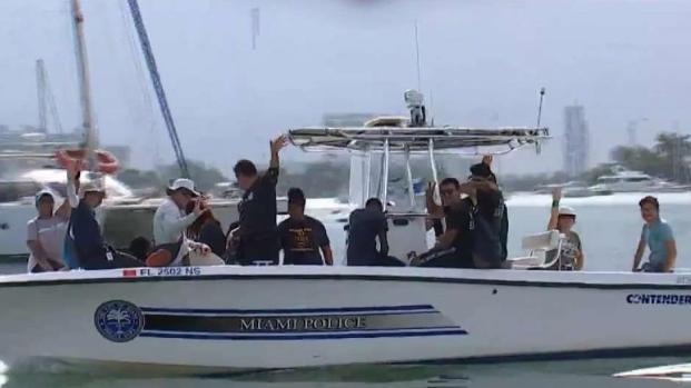 [MI] Miami Police Clean Pace Picnic Island