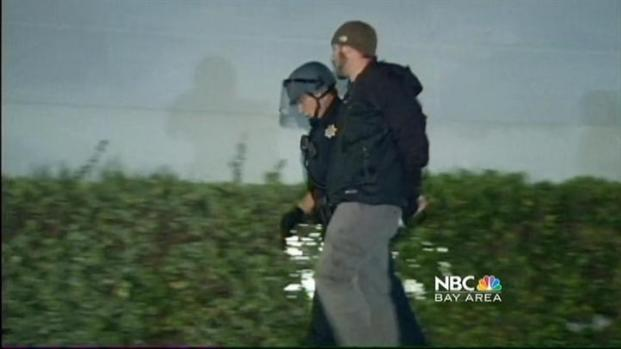[BAY] Occupy Cal Clashes: 7 Arrests