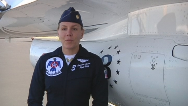 [MI] U.S. Air Force Thunderbird Pilot Making History