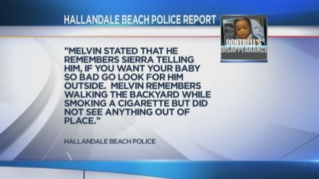 [MI] Finger Pointing Between Dontrell Melvin's Parents Seen in Police Report