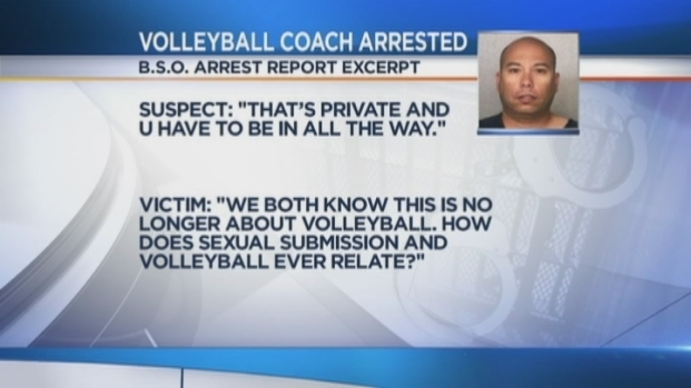 [MI] South Florida Volleyball Coach Tried to Pressure Student, 15, Into Sex: BSO