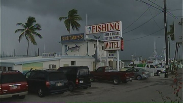 "[MI] ""It's Nothing To Worry About,""  Florida Keys Driver Says of Isaac"