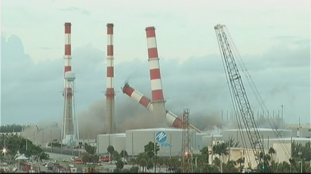 [MI] FPL Plant at Port Everglades Demolished