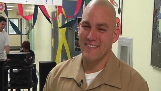 [MI] Overwhelming Hero's Welcome for Marine