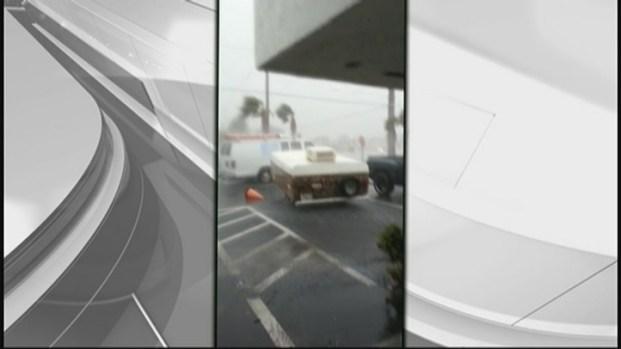 [MI] Raging Pompano Beach Storm Captured in Man's Video